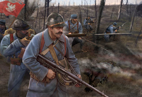 Strelets - Polish Infantry WWI - 1:72 - M130