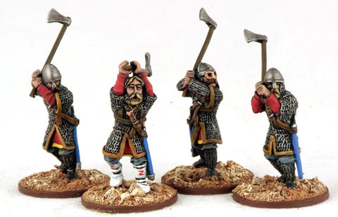 Gripping Beast  SV07/SZ10 - SAGA - Varangian Guard with Axes (Hearthguard for SHVA01) - 28mm