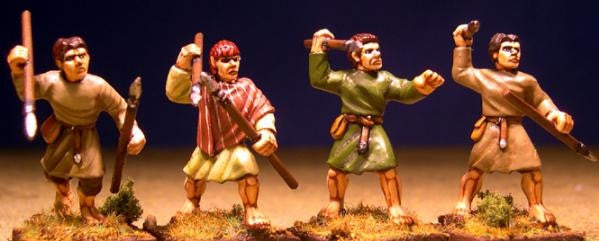 Gripping Beast - SAGA - SW05 - Welsh Bonneding archers (levy) - 28mm