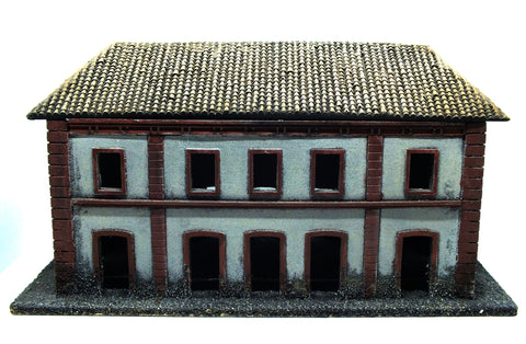Scenery - Building painted (type 1) in resin - 28mm