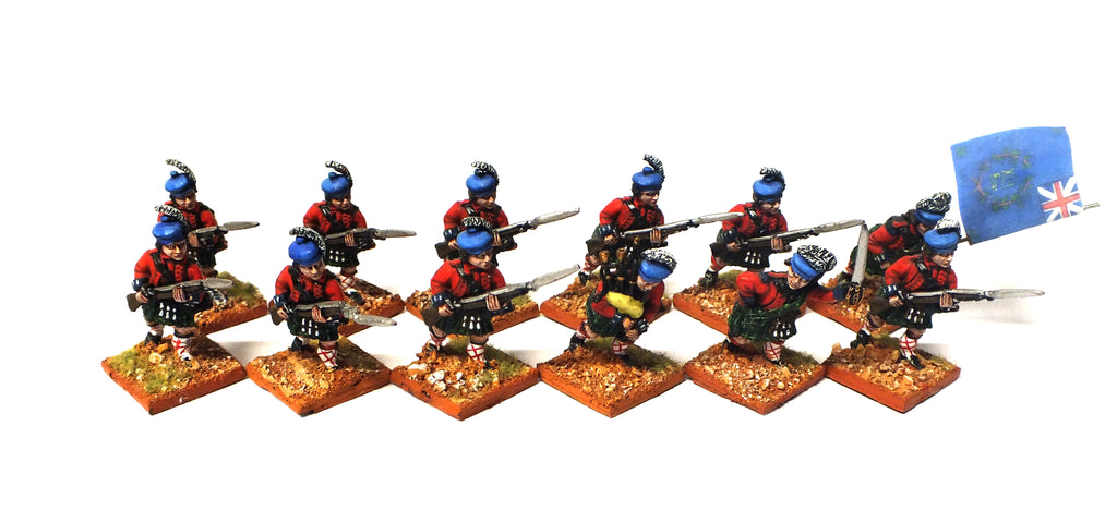 Scottish Infantry (American Revolution) - 28mm