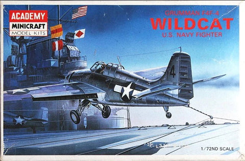 Academy - Grumman F4F-4 Wildcat U.S. Navy fighter - 1:72