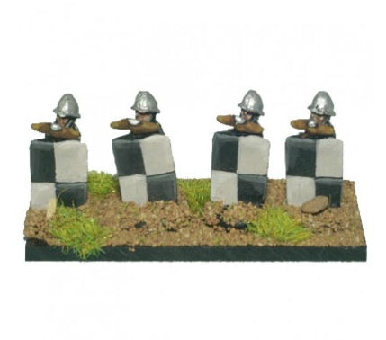 Magister Militum - 14th-15th Century Crossbowmen with Pavise - 10mm