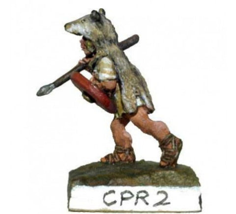 Chariot Miniatures - Camillan and Polybian Velites in Animal Skin - 15mm