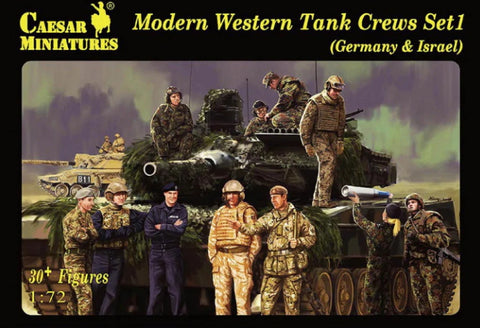 Caesar miniatures - Modern western tank crews set 1 - 1:72