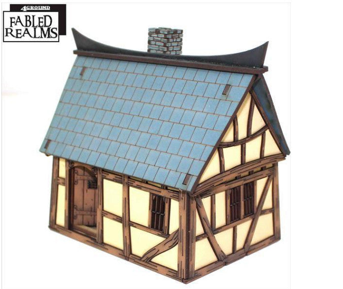 4GROUND - Mordanburg Backstreet Hovel 04 - 28mm - 28S-FAR-108