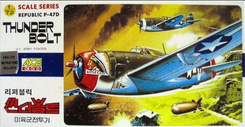 ACE - Republic P-47D Thunder Bolt - 1:72