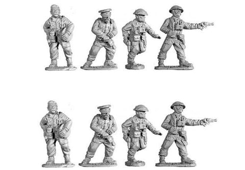 Black tree design - WW2160 - British infantry officers (8) (WWII) - 28mm