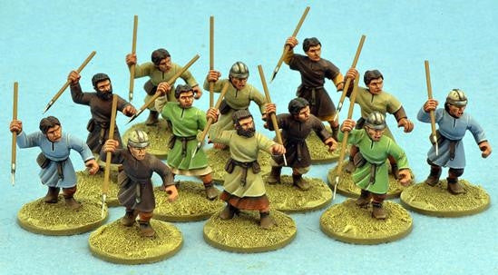 Gripping Beast - SAGA - Spanish levy with javelins - 28mm