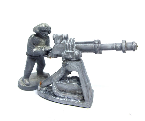 Star Wars - Automatic Blaster Cannon (West End Game) Imperial Troopers - 25mm - SW114/115