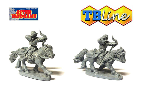 TB LINE 4175 - Mongol light cavalry with bow - 10mm