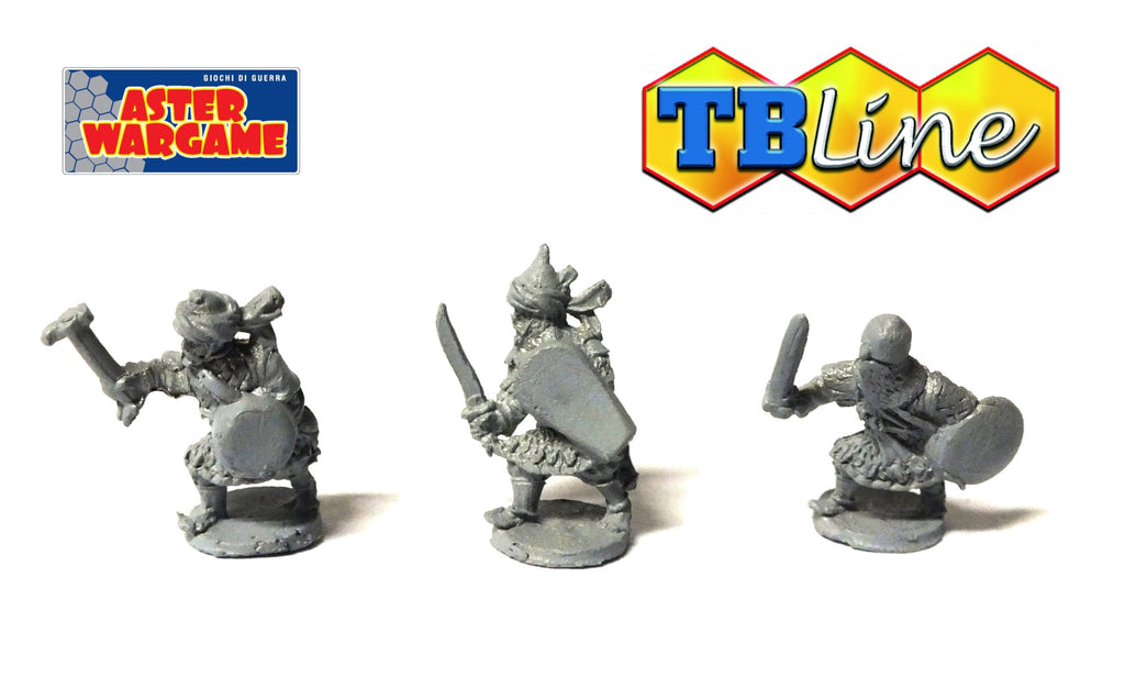 TB LINE 4194 - Islam knights on foot - 10mm