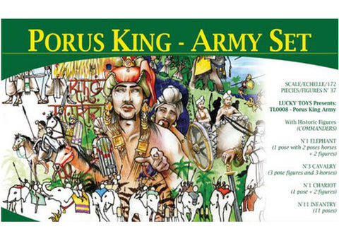 Lucky Toys - Porus King - Army set - 1:72