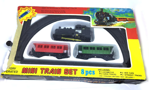 Mini Train Set 8 pieces (use battery not included)
