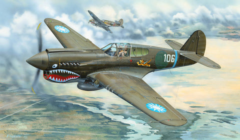 Trumpeter TU02269 - Curtiss P-40E Kittyhawk - 1:32