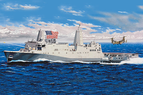 Trumpeter 05616 - USS New York LPD-21 - 1:350
