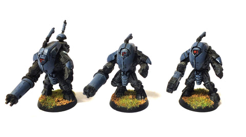 Warhammer 40.000 - Tau Empire XV25 Stealth Battlesuits - 28mm