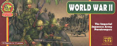 Ultima Ratio - The imperial japanese army paratroopers (World War II) - 1:72