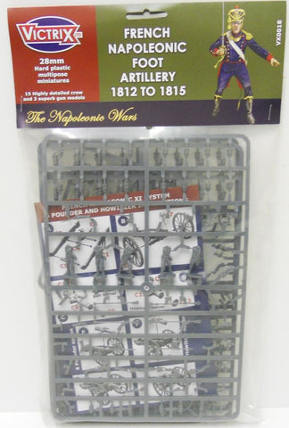 Victrix - French napoleonic foot artillery 1812 TO 1815 - 28mm
