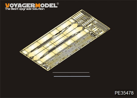 Voyager Model PE35478 - M24 Chaffee (Early Prod) Light Tank Fenders and Skirts - 1:35