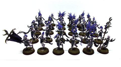 Warhammer Fantasy - Daemons of Chaos Daemonettes of Slaanesh (painted) 28mm