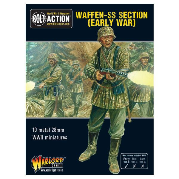 Bolt Action - 402212101 - Waffen-SS Section (Early War) - 28mm