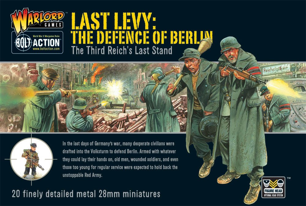 Bolt Action - WGBWM03 - Last levy: The defence of berlin - 28mm
