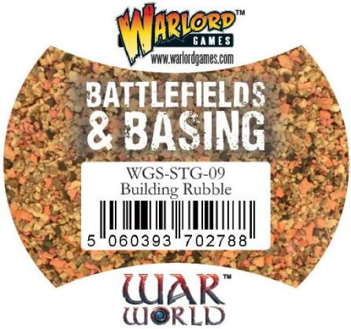 Warlord Games - Battlefields & Basing - Building Rubble - WGS-STG -09
