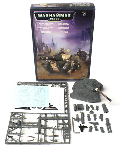 Warhammer 40.000 - Imperial Guard Leman Russ Battle Tank - 28mm