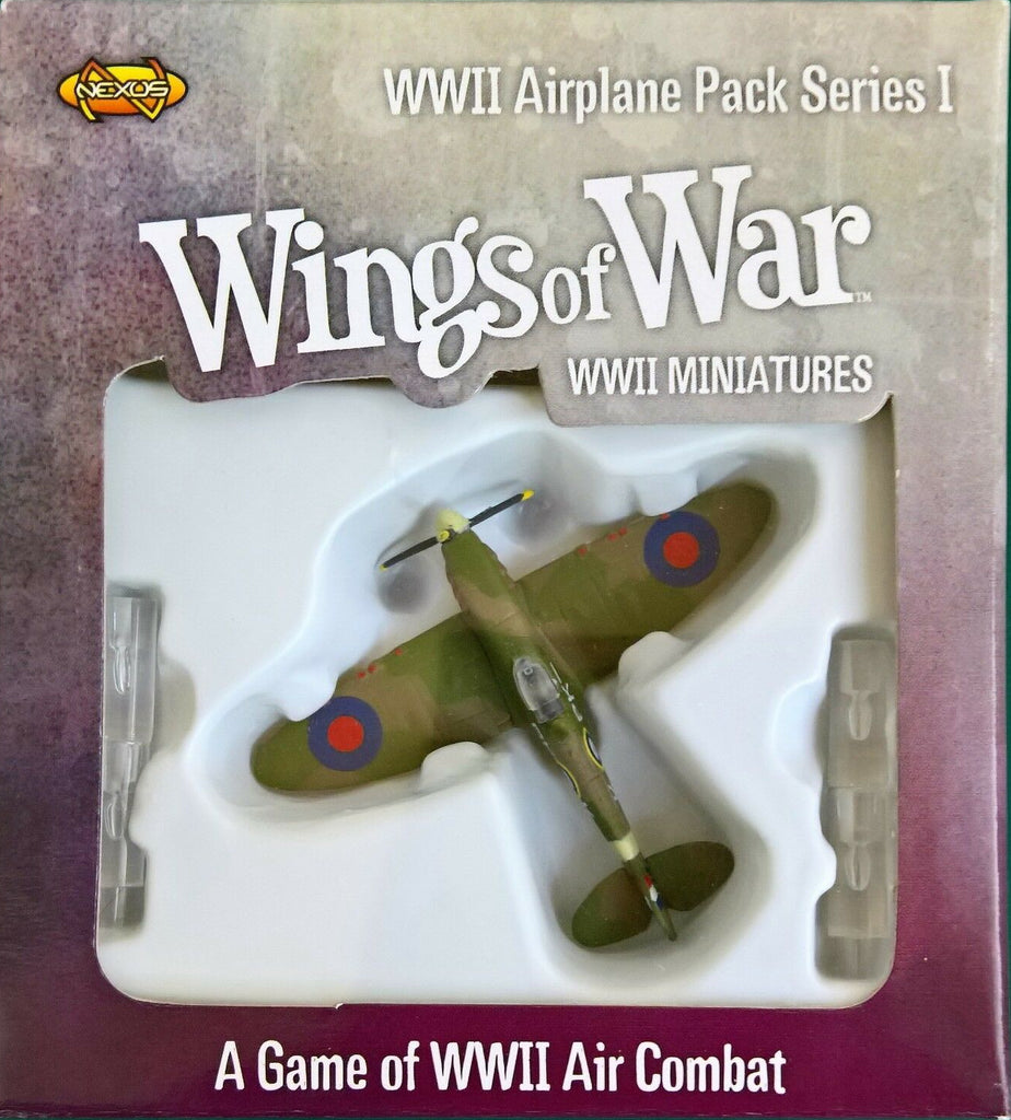 Wings of War: Airplane Pack WWII series I - Supermarine spitfire MK.II (Falkowski) - 1:144