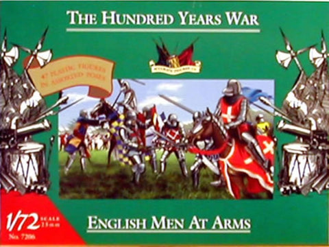 Accurate Figures Co. - The Hundred Years War - English Men At Arms - 7206