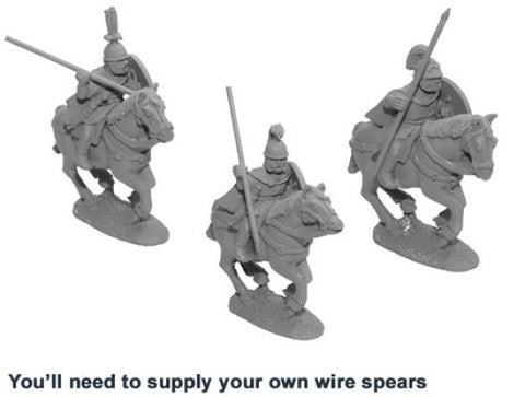 Crusader - Ancients > Romans - ANR010 - Unarmoured Roman Cavalry - 28mm