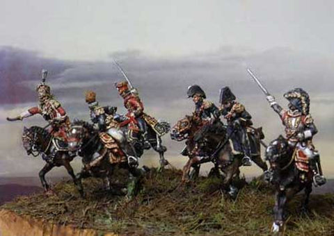 Waterloo 1815 - AP102- French high staff at Waterloo - 1:72