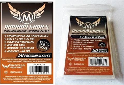 Mayday Games - Usa chimera game sleeves (57,5mm x 89mm)