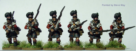 Perry - British Highlanders charging, flank companies (Nap. wars) - 28mm - BH52