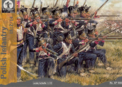 Waterloo 1815 - AP008 - Polish infantry - 1:72