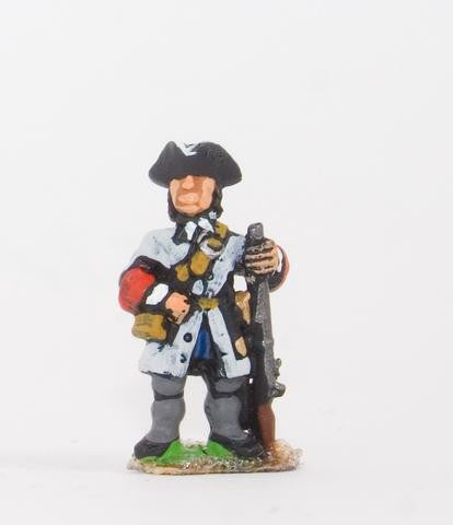 Essex - Line Infantry in Tricorne & Gaiters: At ease (All Nationalities) - 15mm