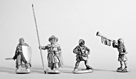 Mirliton - Teutonic Knights Foot Command - 15mm