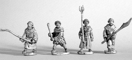 Mirliton - Fighting friars - 15mm