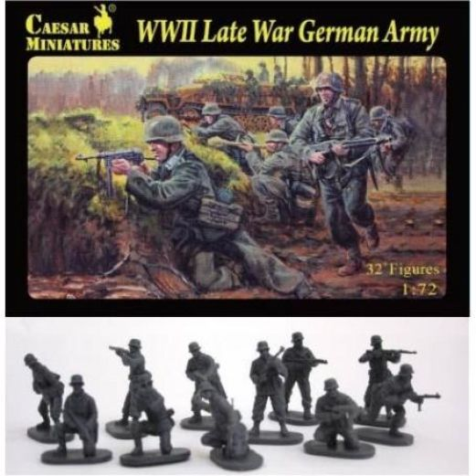Caesar Miniatures H074 - WWII Late War German army - 1:72