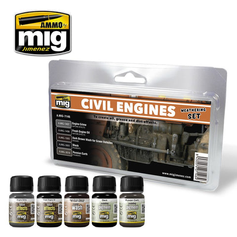 Ammo of Mig - Civil Engines (5pz)
