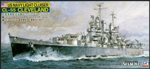 Pit-Road W22 - CL-55 Cleveland - US Navy Light Cruiser - 1:700