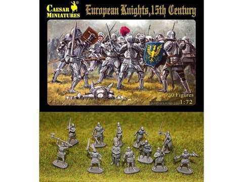 Caesar Miniatures - H091 - European knights 15th century - 1:72 (OOP)