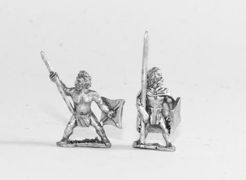 Essex - Caledonian & Pictish: Warband Infantry with long spear & sword - 15mm