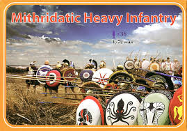 Linear B - Mithridate heavy infantry - 1:72 - LA078