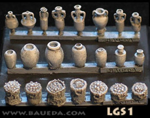 Baueda - Ancient supplies - 15mm - LGS1