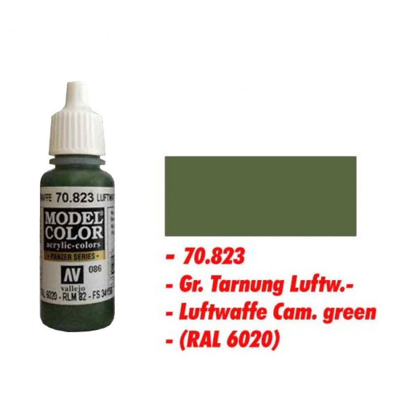 Vallejo Color - 70823 - Luftwaffe cam. green 086 - 17ml