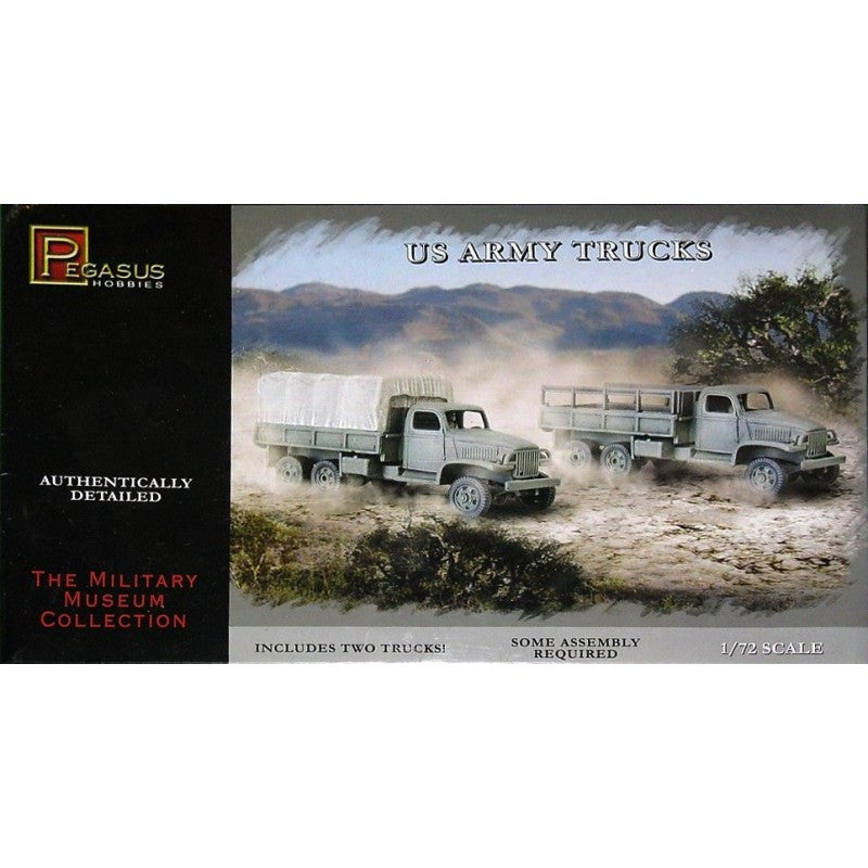 Pegasus Hobbies 7651 - US Army trucks - 1:72