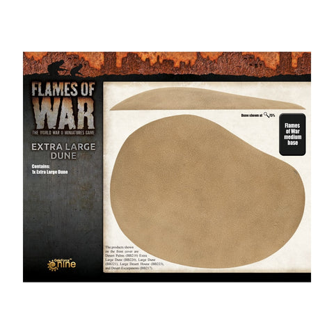 Flames of war - Extra large dune (x1) - BB220