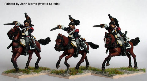 Perry - French Cuirassiers charging (Napoleonic wars) - 28mm - FN60